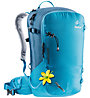Deuter Freerider 28 SL - zaino scialpinismo/freeride - donna, Light Blue