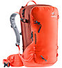 Deuter Freerider 30 - zaino scialpinismo/freeride - uomo, Red