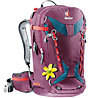 Deuter Freerider Pro 28 SL - zaino freeride donna, Red