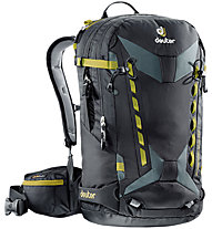 Deuter Freerider Pro 30 - zaino freeride, Black/Yellow