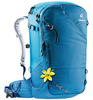 Deuter Freerider Pro 32+ SL - Skitouren/Freeriderucksack - Damen, Light Blue