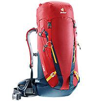 Deuter Guide 35+ - zaino alpinismo, Red/Blue