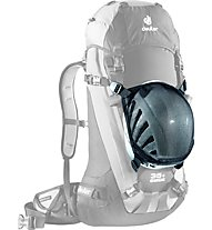 Deuter Helmet Holder - Zaino arrampicata, Black
