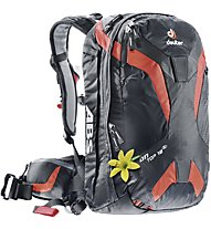 Deuter Ontop 18 SL - Lawinenrucksack - Damen, Black/Orange