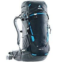 Deuter Rise 34+ - Skitourenrucksack, Black/Grey