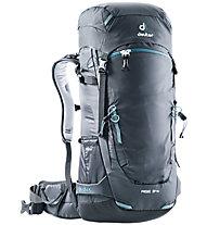Deuter Rise 34+ - zaino scialpinismo, Black