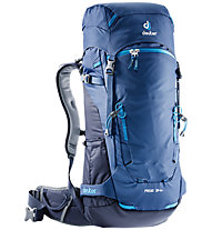 Deuter Rise 34+ - zaino scialpinismo, Blue