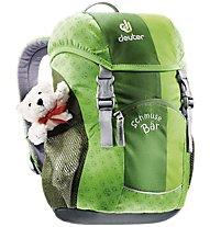 Deuter Schmuse Bär 8 L - Kinderrucksack, Green