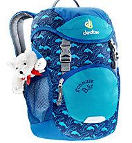 Deuter Schmuse Bär 8 L - Kinderrucksack, Blue