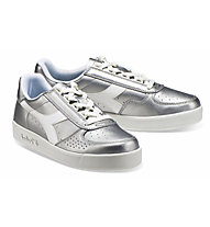 Diadora B.Elite L Metallic Woman  - Sneaker - Damen, Silver