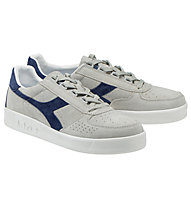 Diadora B.Elite Nub - sneakers, Grey/Blue