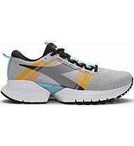 Diadora Mythos Blushield Elite Trx 2 - scarpe running stabili - uomo, Grey/Black/Yellow