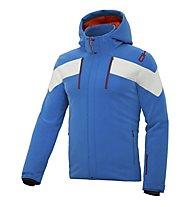 DKB Dkback Skijacke/Softshelljacke, Light Blue/White