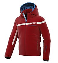 DKB Net Skijacke, Red/White
