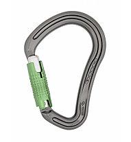 DMM 30kN Boa Locksafe - moschettone, Titanium/Green