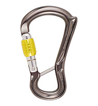 DMM Ceros Screwgate Captive Bar - Schraubkarabiner, Grey/Yellow
