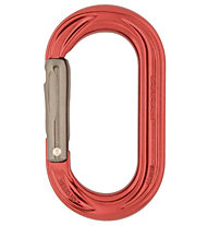 DMM PerfectO Straight Gate - moschettone ovale, Red