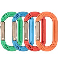 DMM PerfectO Straight Gate 4 Pack - Oval-Karabiner-Set, Multicolor