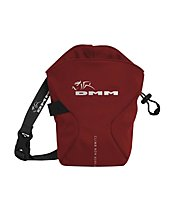 DMM Traction Chalk Bag - porta magnesite, Red