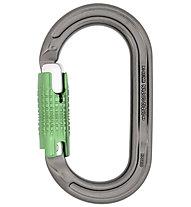DMM Ultra O Locksafe - moschettone, Grey/Green