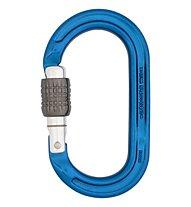 DMM Ultra O Screwgate - moschettone ovale, Blue