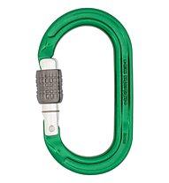 DMM Ultra O Screwgate - moschettone ovale, Green