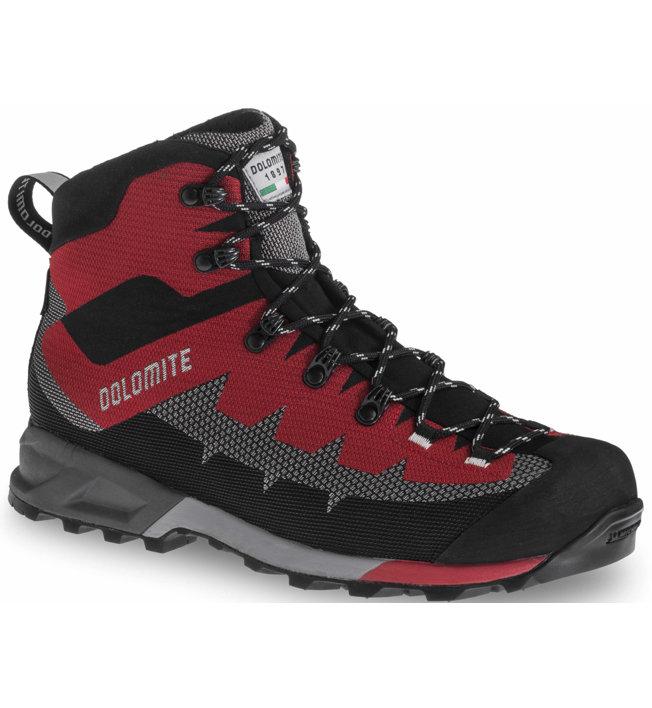 Dolomite Steinbock GTX - scarpe trekking - uomo, Red/Grey