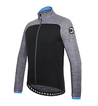 Dotout Cruiser Radjacke, Melange Dark Grey/Black/Light Blue