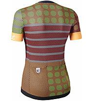 Dotout Dots - maglia bici - donna, Orange/Yellow