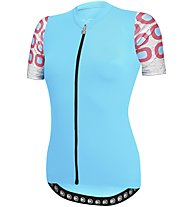 Dotout Dots W Jersey - Radtrikot - Damen, Light Blue/Pink