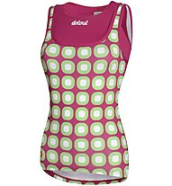 Dotout Dots - Fahrrad-Top- Damen, Violet/Green