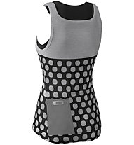 Dotout Dots - Fahrrad-Top- Damen, Grey/Black