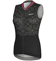 Dotout Flash - maglia bici senza maniche - donna, Black/White