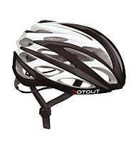 Dotout Casco bici Han (2015), Shiny Black/Shiny White
