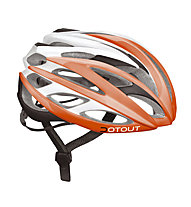 Dotout Casco bici Han (2015), Shiny Orange/Matt White/Matt Black