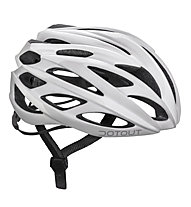 Dotout Casco bici Han, Shiny White