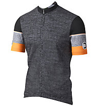 Dotout Hero - Fahrradtrikot - Herren, Dark Grey/Orange