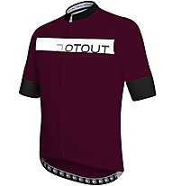 Dotout Horizon - maglia bici - uomo, Dark Red/Black