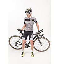 Dotout Icon.2 Bib Short Radhose, Grey/Black