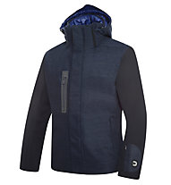 Dotout Outwhere Skijacke, Melange Blue/Black/Light Blue