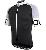 Dotout Pure - Fahrradtrikot - Herren, Black/Grey
