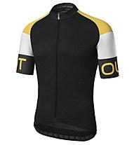 Dotout Pure - maglia bici - uomo, Black/Yellow