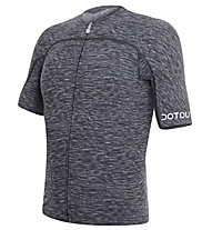 Dotout Race Sonic Jersey FZ - Maglia Ciclismo, Melange Dark Grey