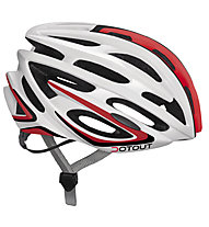 Dotout Casco bici Shoy, Shiny White/Shiny Red