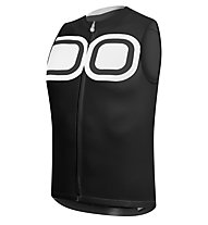 Dotout Signal Sleeveless Jersey FZ - Maglia Ciclismo, Black
