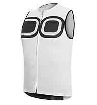 Dotout Signal Sleeveless Jersey FZ - Maglia Ciclismo, White