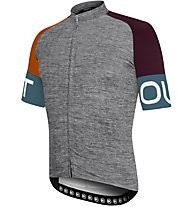 Dotout Spin - maglia bici - uomo, Grey/Orange