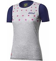 Dotout Stars - maglia bici - donna, Grey/Blue