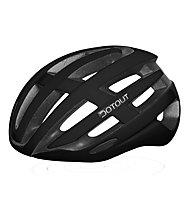 Dotout Targa - casco bici da corsa, Black