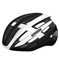 Dotout Targa - casco bici da corsa, Black/White